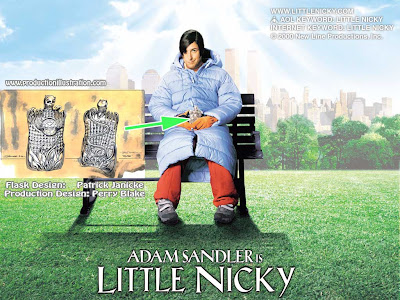 little nicky song played backwards