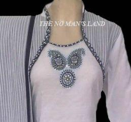 photo of indian blouse design