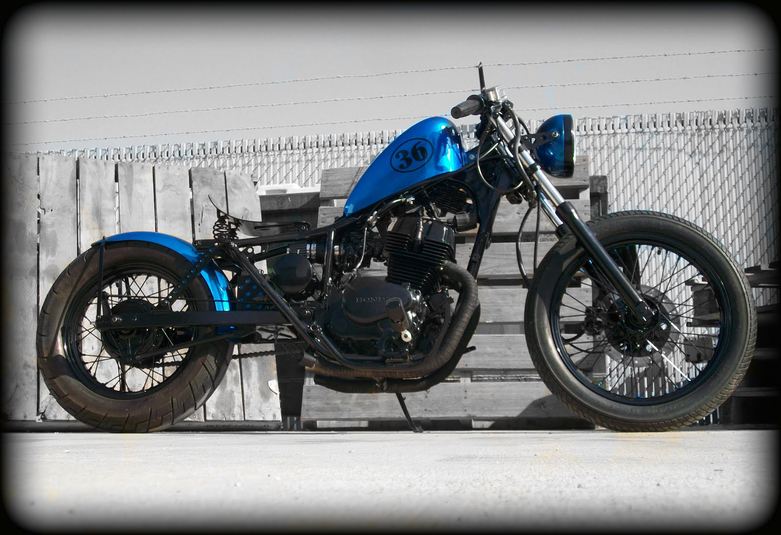 Tail End Customs: 2001 Honda Rebel CMX250 Bobber