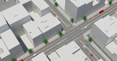 Free 'City Roads Package' Download for 3D Max – digital urban