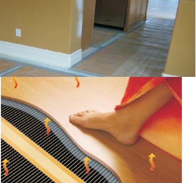 chauffage economique chauffage au sol lectrique film carbone. Black Bedroom Furniture Sets. Home Design Ideas