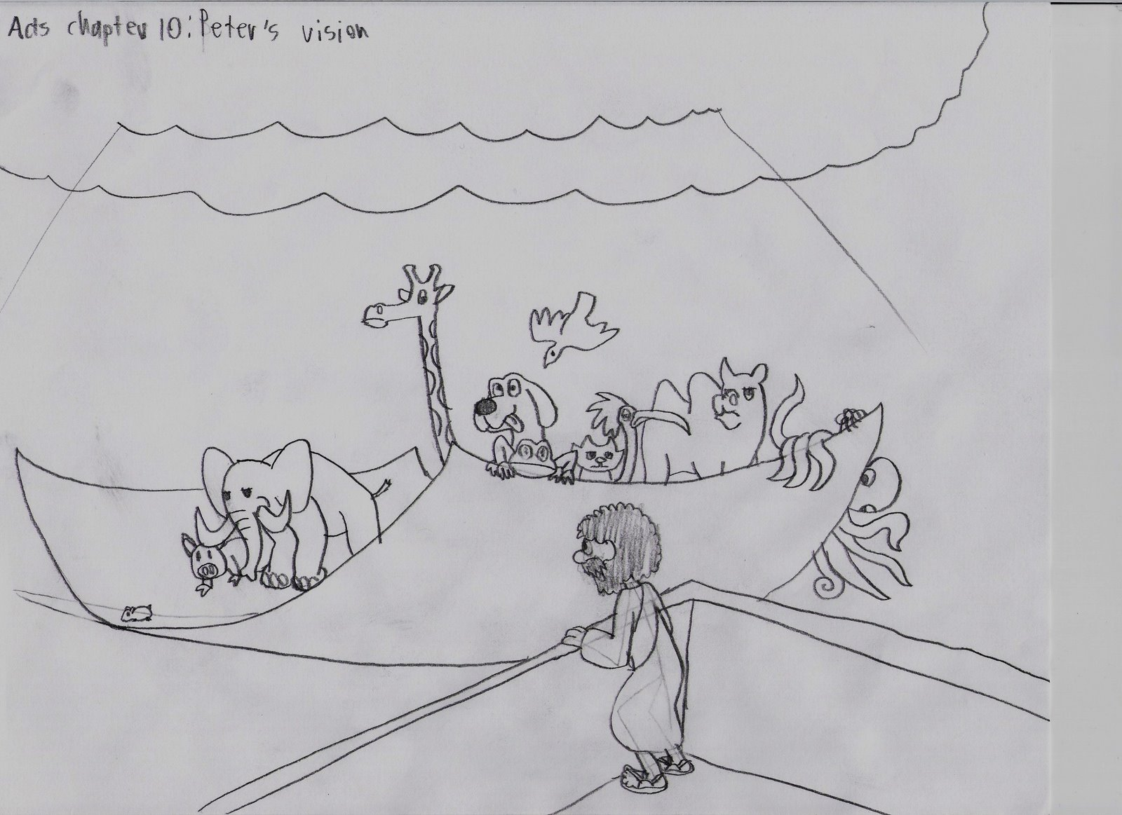 coloring pages cornelius peter - photo#21