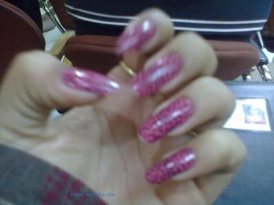 simple nail art desing