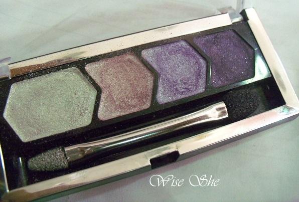 Maybelline eye studio color plush silk eye shadow Legandary Lilac 110