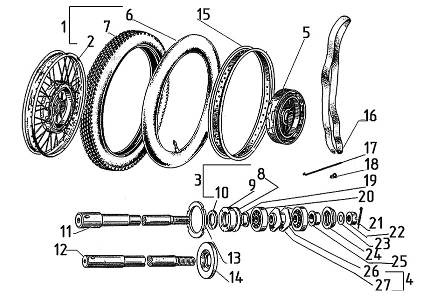 ural engine diagram