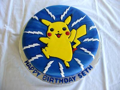 Kim S Cakes Pikachu Cake