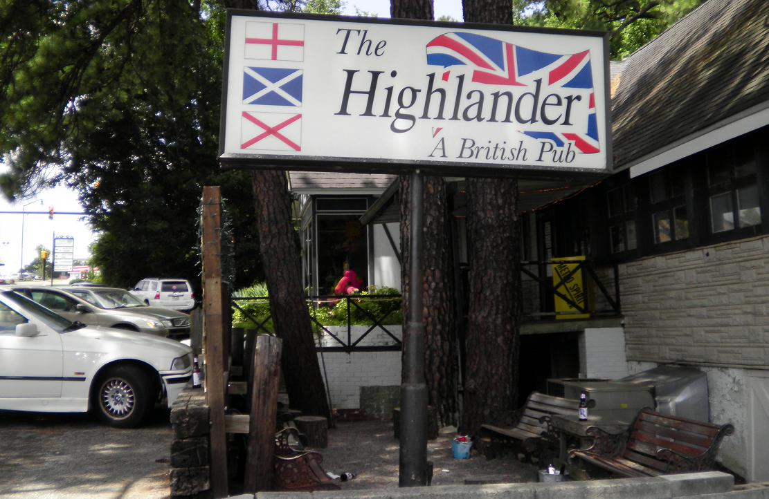 Here Is A British Pub In North Augusta I Ve Gone To Few Times Like Their Sign Because It Has Not Only The Union Jack But Also St George