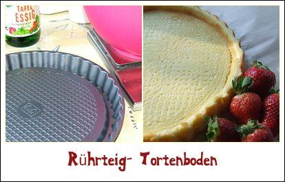 Kaffeeklatsch Einfache Und Schnelle Rezepte Ruhrteig Tortenboden