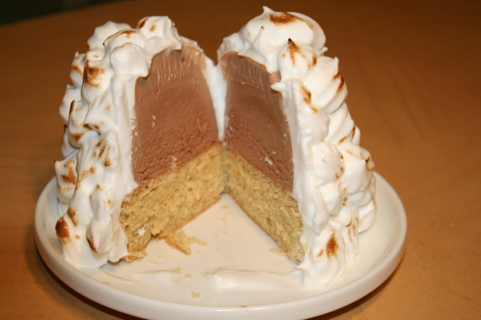 How To Make Baked Alaska Cake