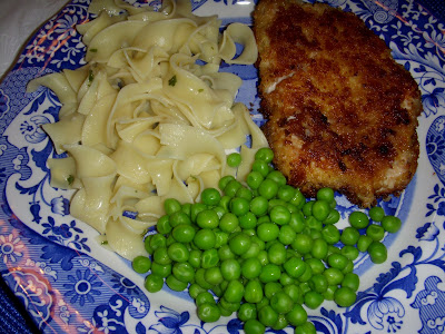 Crispy Pork Cutlets With Buttered Noodles Dallas Duo Bakes
