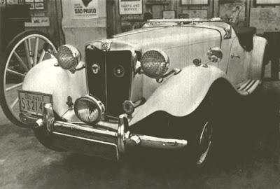 O MG TD2 1952 do Museu - foto de Pedro Henrique/Revista Quatro Rodas 165.