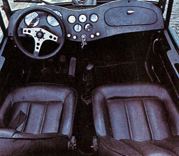 MP Lafer TI: interior