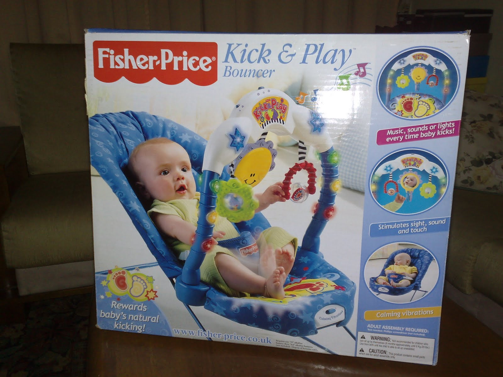 httpLetsgrabblogspotcom Fisher Price Kick and Play