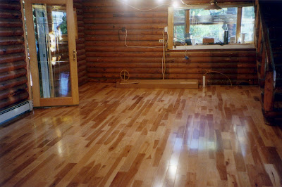 United Floor Covering Rustic Cabin