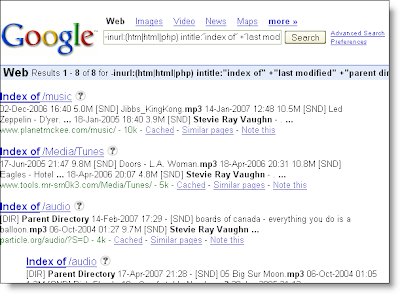 Firefox and Google together make a powerful search utility