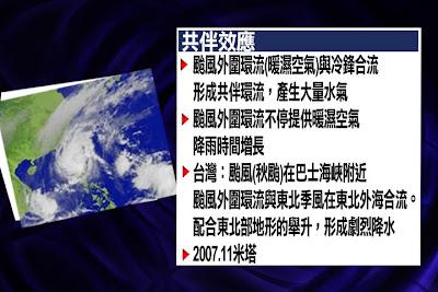 公共電視 有話好說: 颱風又來了!請全民戒備! 共伴效應不可小覷 雙颱來襲千萬小心!