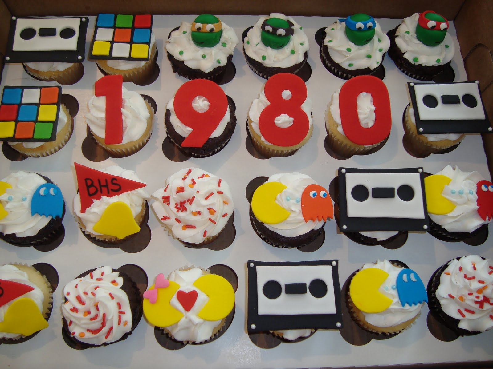 Cupcakes By Dusty 1980 S