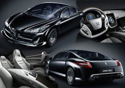 concept car: peugeot 908 rc concept car