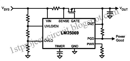 Project Circuit Design: Positive Low Voltage Hot Swap