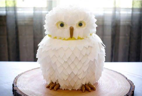 How To Make Owl Wedding Cake Topper