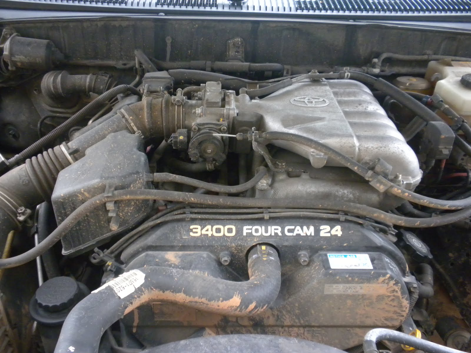 small resolution of my car battles spark plug wires on my 02 toyota 4runner 3 4 l v6 rh mycarbattles blogspot com 3400 engine performance 3400 sfi v6 engine diagram