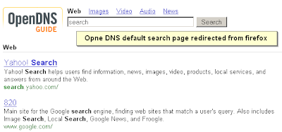 Open Source Talks: How to bypass OpenDNS redirect in firefox