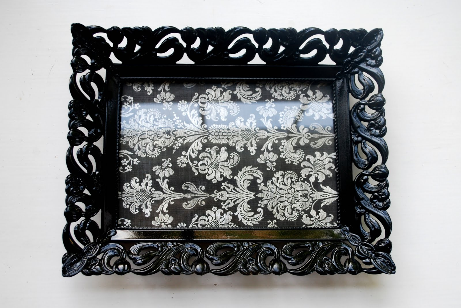Sweet Blessings Old Gold Gaudy Frame Spray Paint Cute