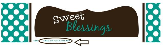Sweet Blessings January 2011