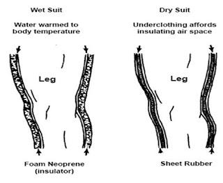 Wet Dry Suit Diving