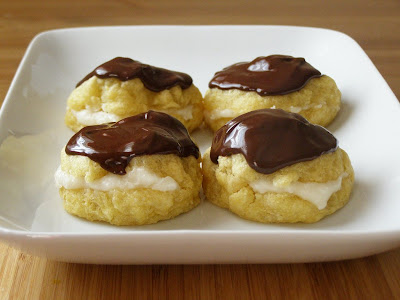 Vegan Cream Puffs Choux Pastry