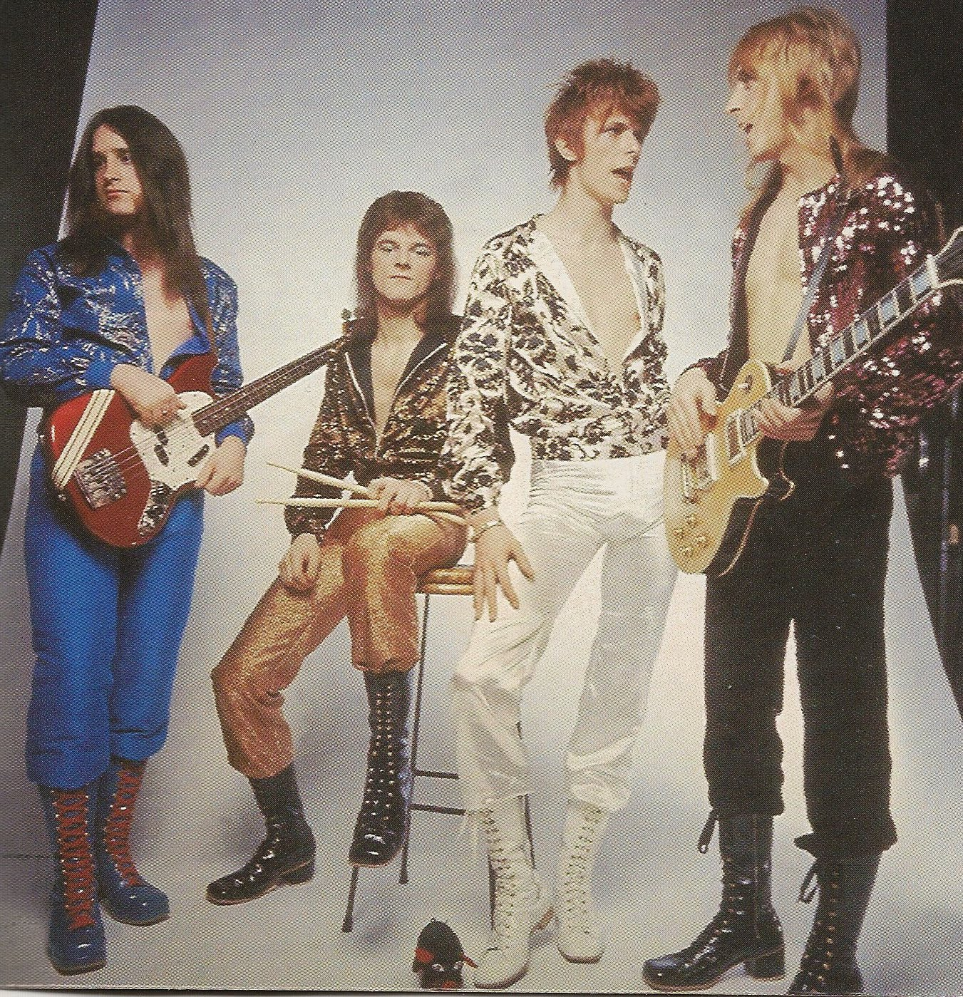 Mostly Random Photos, eh?: David Bowie and the Spiders from Mars