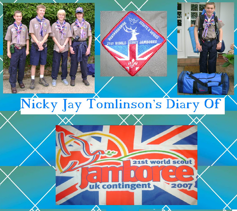 Nicky Jay Tomlinsons Diary Of The 21st World Scout Jamboree