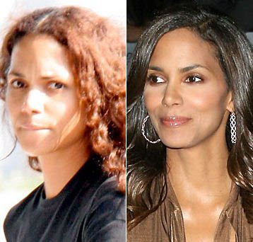 Celebrities+Without+Wearing+Makeup+halle+berry