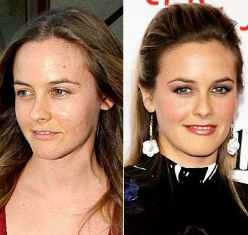 Celebrities+Without+Wearing+Makeup+alicia+silverstone