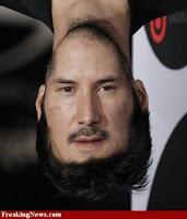 Keanu Reeves+face+upside down