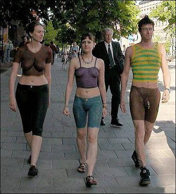 Naked People In Street 88