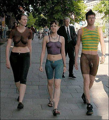 Walking Naked On The Street 51