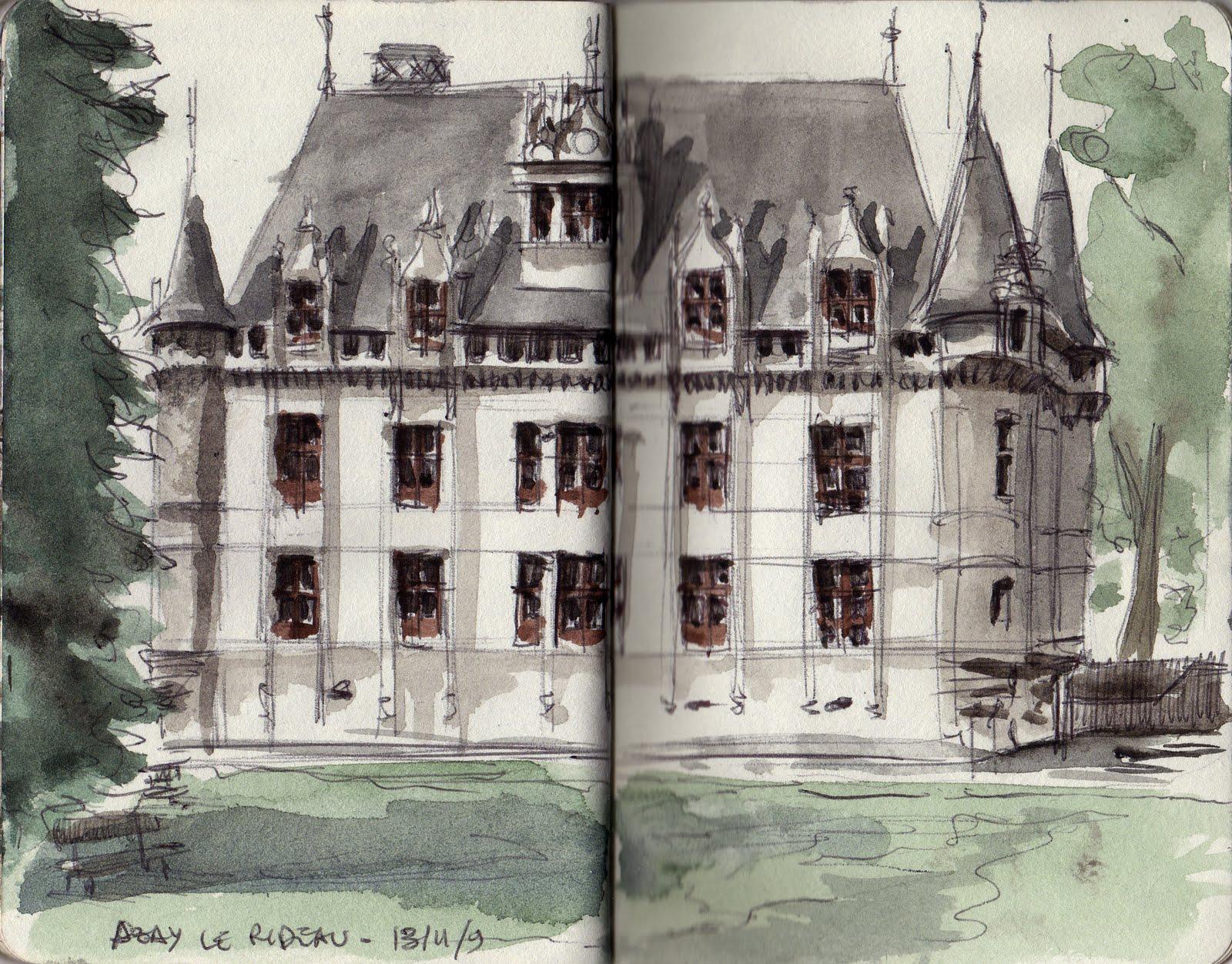 Insadrawings Tournee En Loire