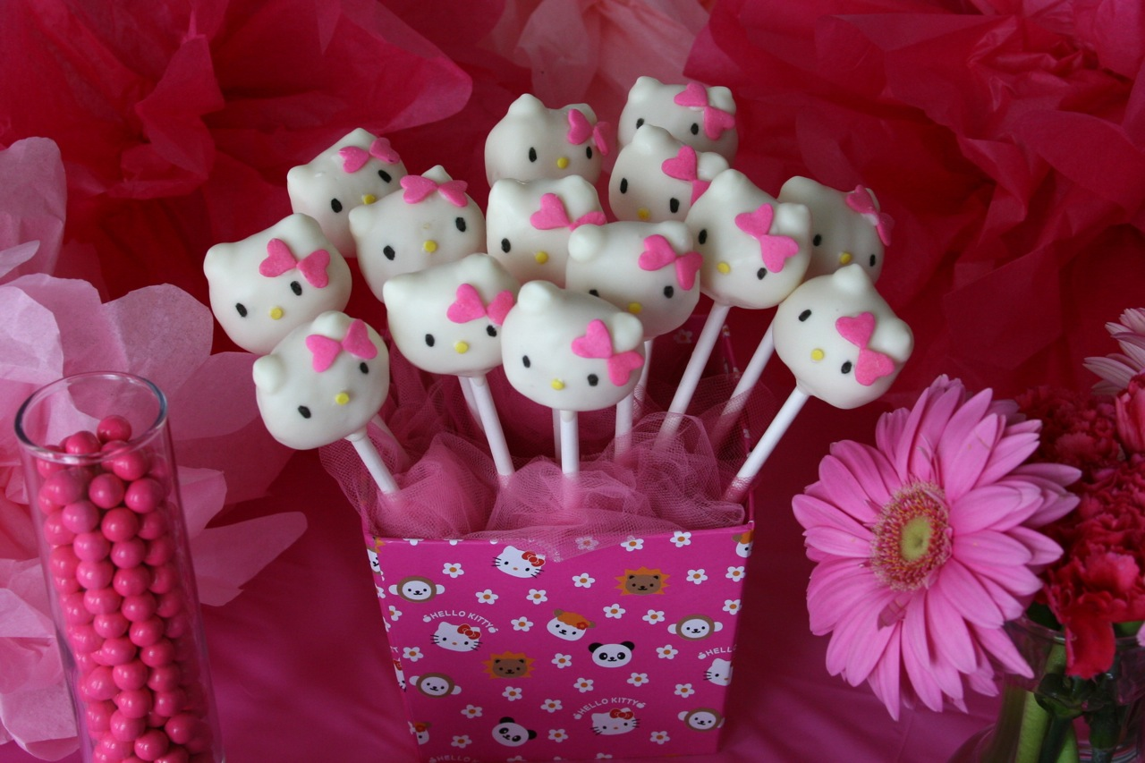 hello kitty cake pops - photo #20