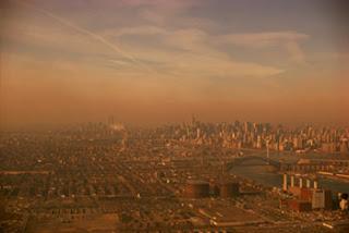 Estudio revela que la ciudad de Nueva York presenta una contaminación atmosférica elevada