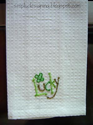 Lucky+Towel AMAZING St. Patrick's Day Stitching FREEBIE!!! 6