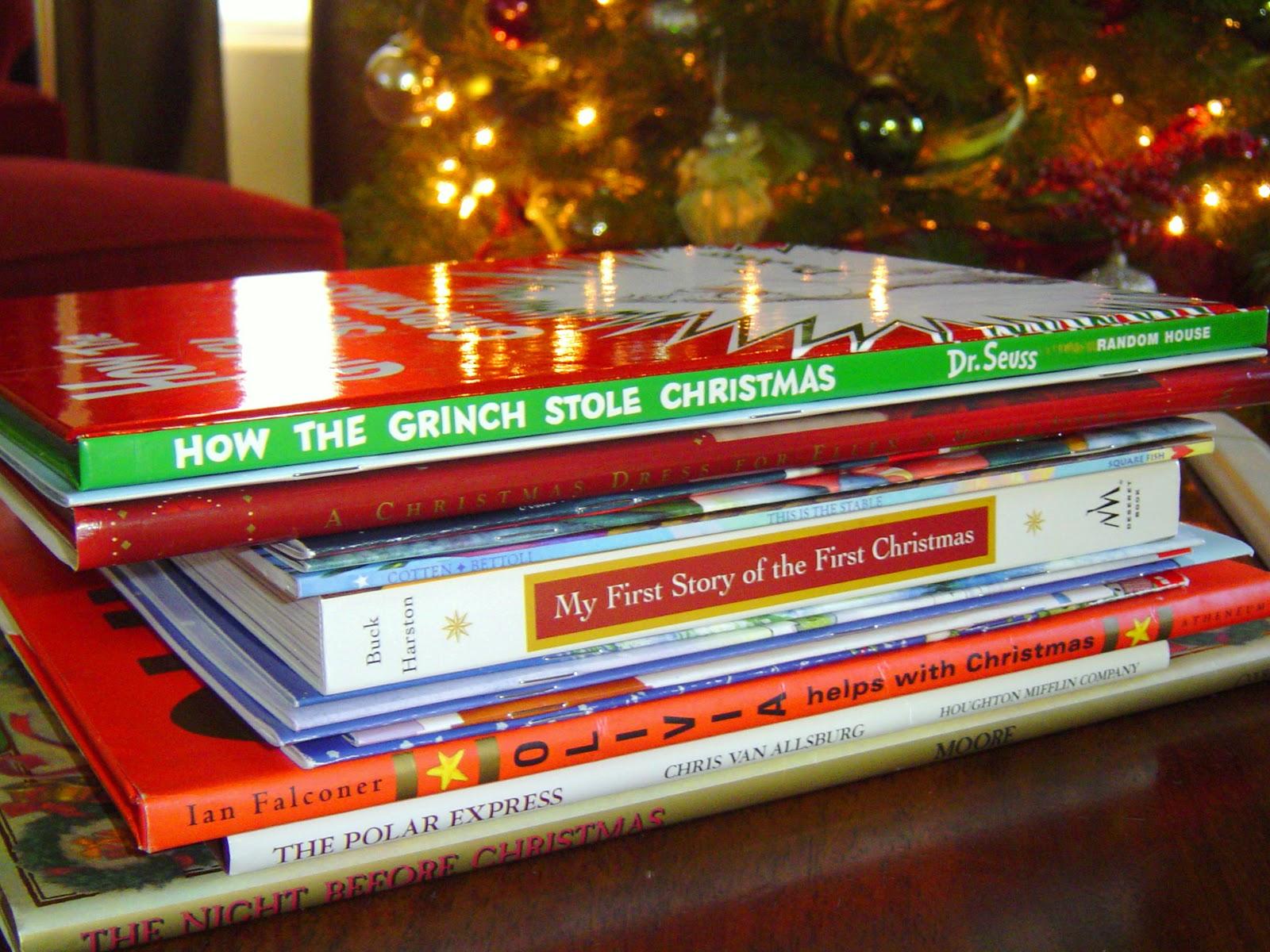 Christmas Books.Christmas Book Tradition