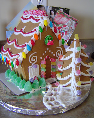 Gingerbread+House Christmas Home Tour 31