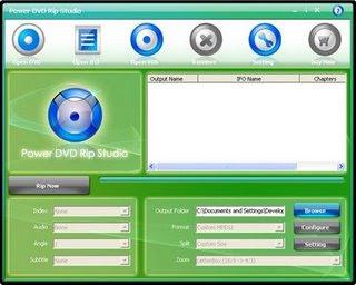 Baixar - Power DVD Rip Studio v1.1.5.20