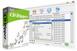Baixar - Arial CD Ripper v1.9.4