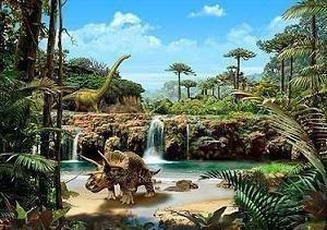 Protetor de Tela - Mundo dos Dinossauros 3D