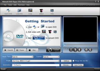 Download - NIDESOFT DVD Ripper v5.2.18
