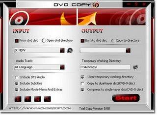 Baixar - A-one DVD Copy 6.9.8