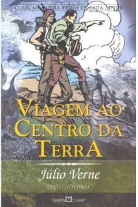 Livro Viagem ao Centro da Terra – Julio Verne