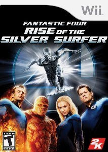 Fantastic 4: Rise of the Silver Surfer - Wii